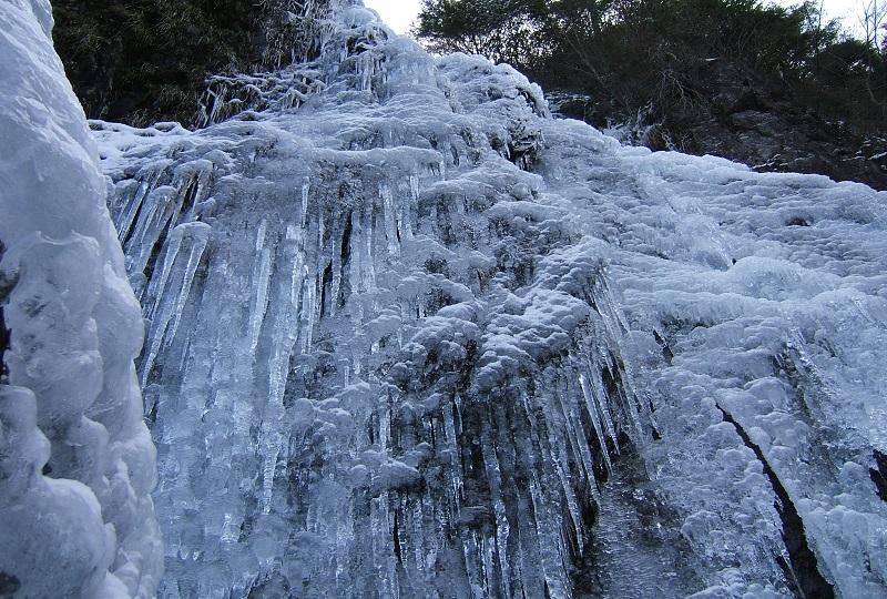 扁妙の滝 氷瀑
